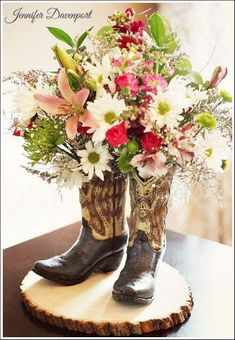 Bridal shower centerpiece ideas for your special bride-to-be!  Easy and fun bridal shower decoration ideas!