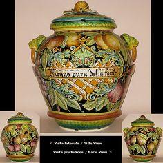 Artistic Italian Pottery jar cm. 75 h.