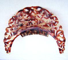Vintage Headdress Tiara Hair Comb Faux by ElrondsEmporium on Etsy