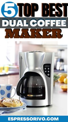 There's always something you can buy that combines your two favorite drinks. Right now, it's the best espresso coffee maker  with a carafe and single-serve. With the help of this fantastic machine, you can brew a single cup to a full pot. Dual Coffee Maker, Best Coffee Maker, Best Espresso, Espresso Coffee, Coffee Type, Carafe, Brewing, The Help, Good Things