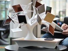 electree+, the electric bonsaï tree for your home or office. by electree+, via Kickstarter.
