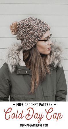 227c7966c7e Crochet Hat Pattern - Megmade with Love Crochet Beanie Pattern