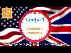 Lecția 1 - Alfabetul și Pronunția - Lecții de Gramatică în Limba Engleză - YouTube English Tips, Teaching English, Language, Learning, Youtube, Parenting, Canada, History, Travel