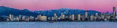 vancouver panorama at sunset winter 2 by markbowenfineart via http://ift.tt/2hNdUWq
