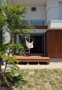 ウッドデッキ(桜水の家)