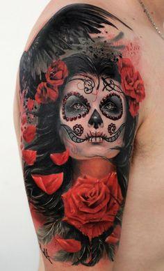 La Catrina Tattoo Bedeutung - Was steht hinter dem Trend?