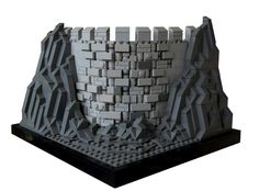 https://flic.kr/p/v3tpo7 | Castle Wall | It only has 3 colors, but I think it looks nice. Also, it happened by accented. :P