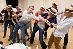 """Neil Patrick Harris rehearsing """"Company."""""""