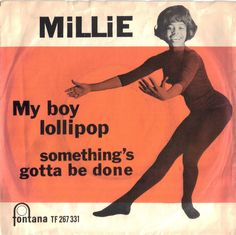 Millie Small. Ska in black tights.