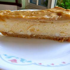 Low Carb White Chocolate Caramel Cheesecake