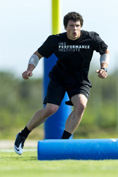 Intensity. Luke Kuechly prepping for the NFL Draft at IMG Academy. #NFL #Panthers #Football