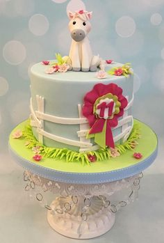 Little Pony - Cake by Shereen Horse Birthday Parties, 3rd Birthday Cakes, Celebration Cakes, Birthday Celebration, First Communion Cakes, Little Pony Cake, Paris Cakes, Mini Tortillas, Horse Cake