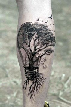 Tatoo - Tatoo - # tatoo # tatoo - Tatoo – Tatoo – gambe Best Picture For diy clothes Fo - Maple Tree Tattoos, Tree Tattoo Men, Tree Bird Tattoo, Bird Tattoo Men, Forarm Tattoos, Body Art Tattoos, Tatoos, Couple Tattoos, Tattoos For Guys