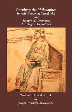 Porphyry the Philosopher by Porphyry, http://www.amazon.co.uk/dp/0866906029/ref=cm_sw_r_pi_dp_ObUysb0R7H2EA