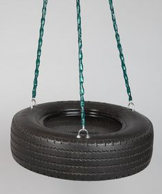 Frontier Swings Three-Chain Tire Swing from the Backyard Fun Collectionon #zulily!