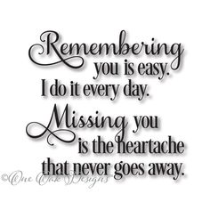 Remembering You SVG File svg dxf png pdf jpg for Cameo Cricut & other electronic cutting machines - Memories quotes Family Quotes, Me Quotes, In Memory Quotes, Loss Quotes, Advice Quotes, Grief Poems, Sympathy Quotes, Grieving Quotes, Heaven Quotes