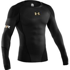 Under Armour Recharge Energy Shirt - Men's - Black/Graphite/White/Metallic Gold Athletic Outfits, Sport Outfits, Gym Outfit Men, Mens Fitness, Fitness Wear, Under Armour Men, Mens Clothing Styles, Cool T Shirts, Sportswear