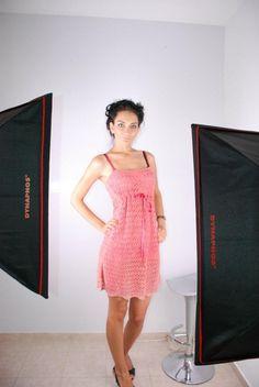 Crochet sleeveless dress by steficrochetideas on Etsy