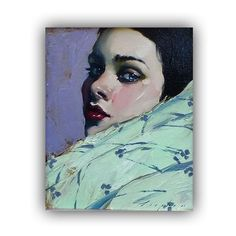 Malcolm Liepke is a painter from Minneapolis Minnesota who focuses mainly on portraits of women. His deeply contrasting colors and focus on intense fashion hair and facial expression set to a bright monotone background really sets him apart from other portrait painters. What do you think of this piece?  #Pixelle #PixelleCo #MalcolmLiepke #art #investinart #visualart #artonline #instaart #photography #blackandwhite #art_empire #theartlovers #artist_sharing #artsanity #artist_features…