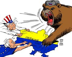 Drawing Ukraine in crisis