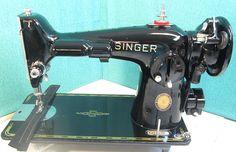 Machines - Sewing Machine Magic Singer 201-2 So smooth. So quiet.