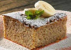 Banana Cinnamon Snacking Cake | Stonyfield