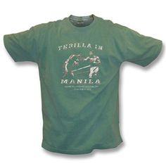 Thrilla in Manila (Ali/Frazier) Vintage Wash T-shirt - TShirt Grill