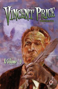 Volume #4:  One of classic Hollywood's most famous scary men, Vincent Price made a name for himself in classic mysteries and thrillers throughout the 1940s, 50s and 60s. Now Vincent Price Presents comes to Bluewater Productions as their 1st ongoing monthly series. The series will feature some of Price's films as well as developing new frightening ones with his estate. Welcome back to the macabre world of Vincent Price.