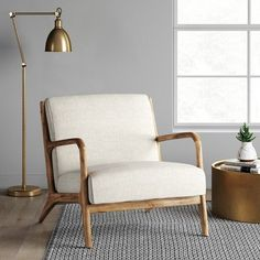 Esters Wood Arm Chair - Light Beige - Project 62™ : Target