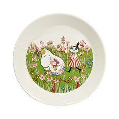 By Arabia - Mumi Tallerken Moomin Shop, Moomin Mugs, Helsinki, Tove Jansson, Plates And Bowls, Hygge, Scandinavian, Decorative Plates, Porcelain