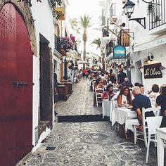 Beautiful old town #Ibiza #Spain  Photo via @novalanalove