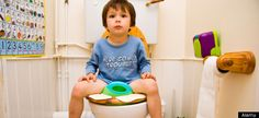 Food for thought on potty training.