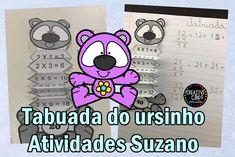 Tabuada do Ursinho | Atividades Pedagogica Suzano