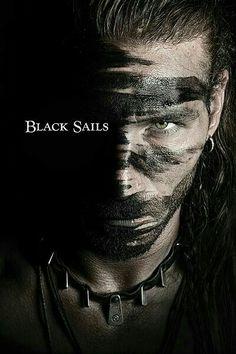 ⚓ Captain Charles Vane Of The Series Black Sails. Flint Black Sails, Black Sails Vane, Charles Vane Black Sails, Series Movies, Tv Series, Starz Series, King Roan, Pirate Life, Pirate Art