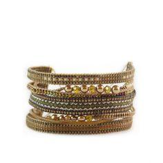 Mishky Potpourri Bracelet Bronze