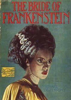 vintage movie poster:  bride of frankenstein 1935