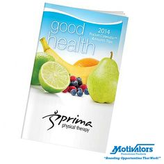 Start the New Year off right! Our good #health pocket #calendar & health tips is the perfect giveaway for tracking fitness, nutrition and more. Hand it out to promote your wellness program. #promotionalproducts #nutrition #fitness #healthy