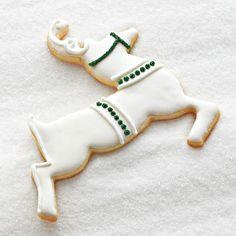 Glitter Reindeer Sugar Cookie Cutouts
