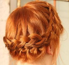 day 3 of 30day braid challenge #braid #redhair #ginger #hairshowwedoit