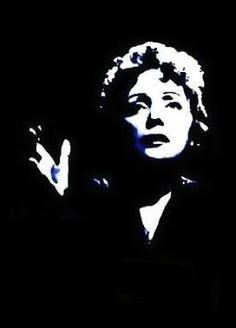 Edith Piaf..kiss once and kiss me twice...la via en rose...