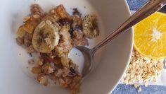 El restaurante del fin del mundo: Muesli o gachas gourmet al horno de manzana y canela