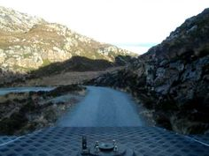 Calum's road by tardis :-)