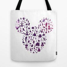 watercolor mickey ears purple hand drawn, silhouette, ombre, geek, nerd, disney, characters, elsa, anna, princess, castle