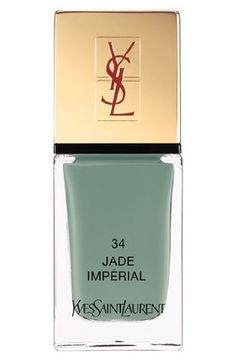 Yves Saint Laurent Spring 2013 Collection La Laque Couture Nail Lacquer Jade Imperial