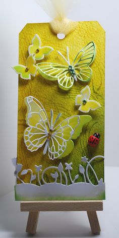gorgeous memory box butterfly dies ;)