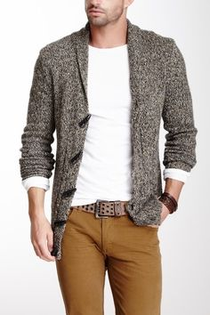 Civil Society Wool Blend Sweater Cardigan by Urgent Gear on @HauteLook