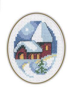 Evensong Card Cross Stitch Kit | sewandso
