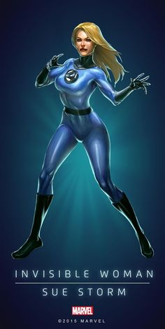 Invisible Woman - Sue Storm