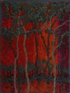 jan beaney and jean littlejohn Textile Fiber Art, Textile Artists, Embroidery Art, Machine Embroidery, Creative Embroidery, Contemporary Embroidery, Landscape Quilts, Thread Painting, Traditional Paintings