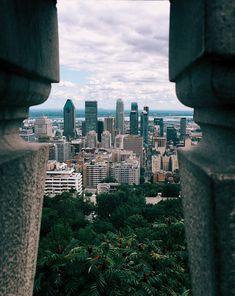 Montréal from Parc du Mont Royal
